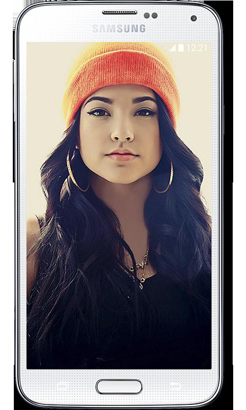 Becky G HD Wallpaper   screenshot 480x800