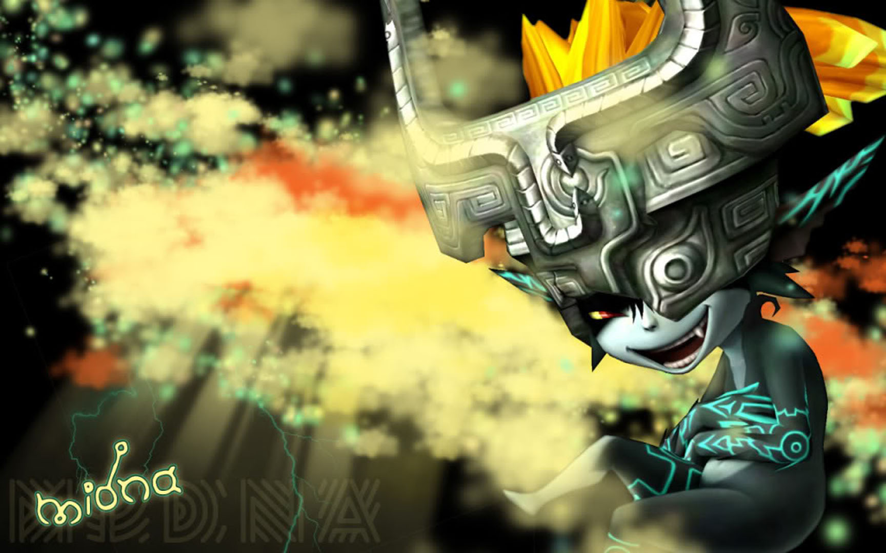 Twilight Princess Sneaky Midna   Nintendo Games Wallpaper Image 1728x1080
