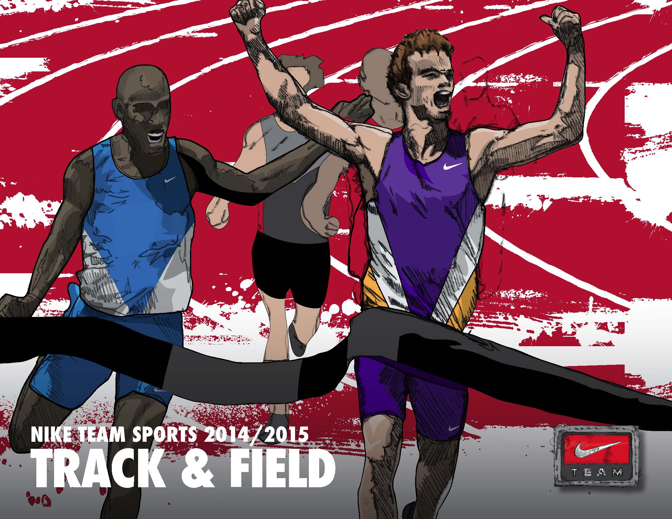 Nike Track And Field Quotes Track and field 2014   2015 2200x1700
