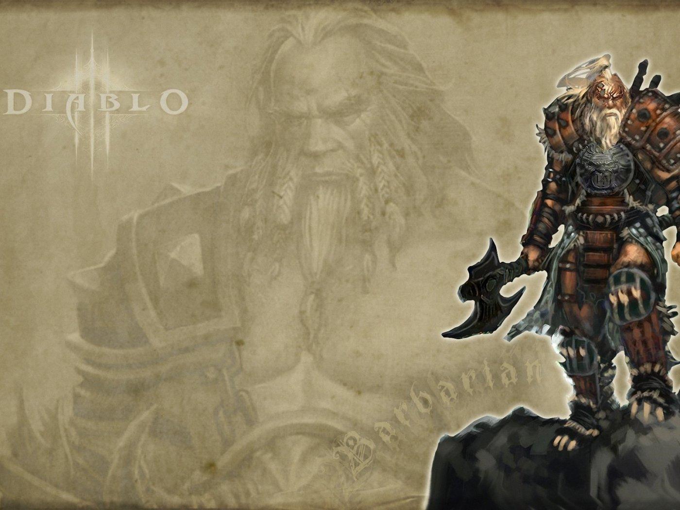Diablo 3 Barbarian Trailer Revealed Gaming Duty 1400x1050