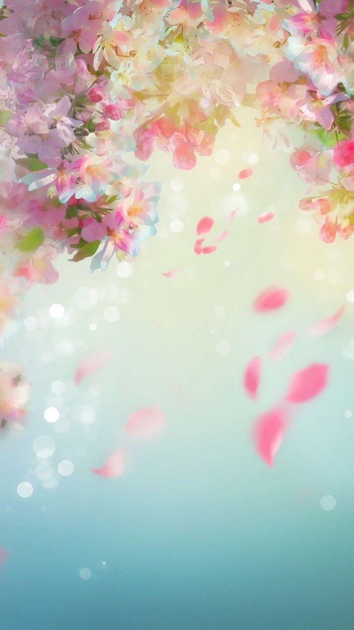 spring flowers wallpaper pink blooming flowers phone wallpaper 700x1245