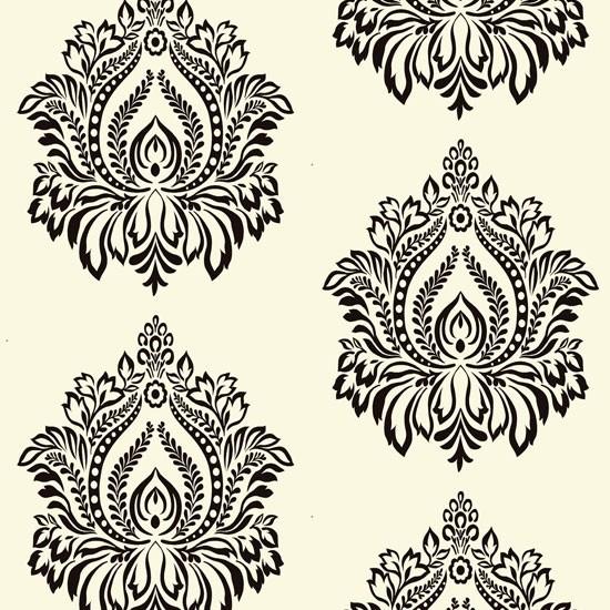 Flock Wallpaper R1917   Traditional   Wallpaper   by Walls Republic 550x550