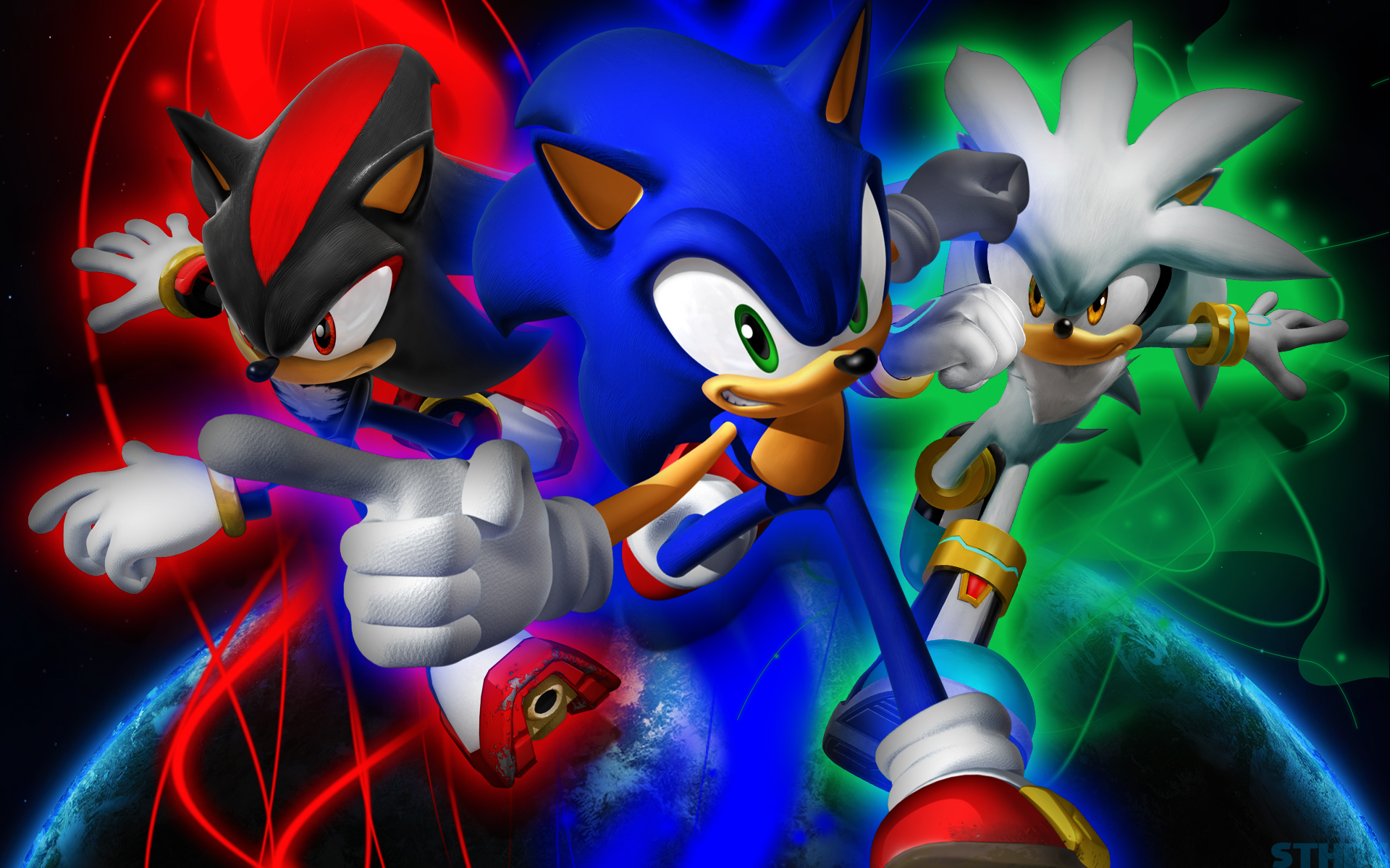 49 Sonic Shadow And Silver Wallpapers On Wallpapersafari