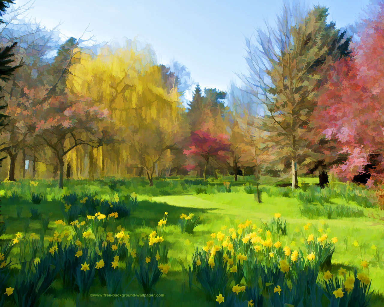 1280x1024 spring wallpaper: High Definition Spring Wallpapers