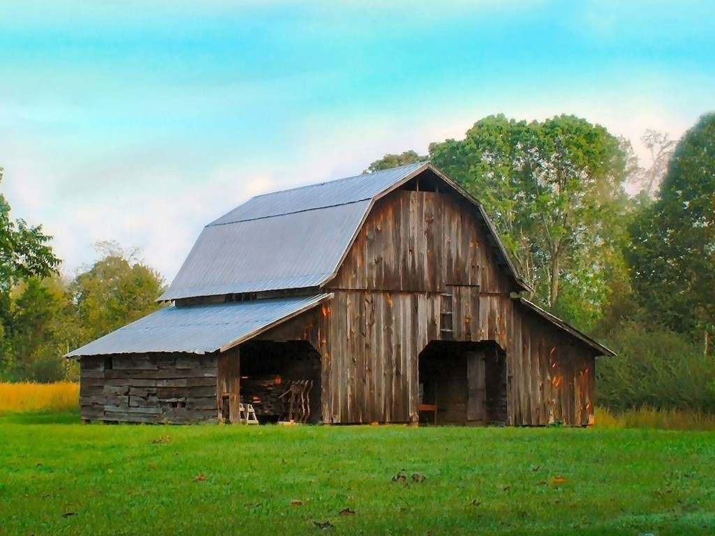 Old farm buildings wallpaper wallpapersafari for Farm shed ideas