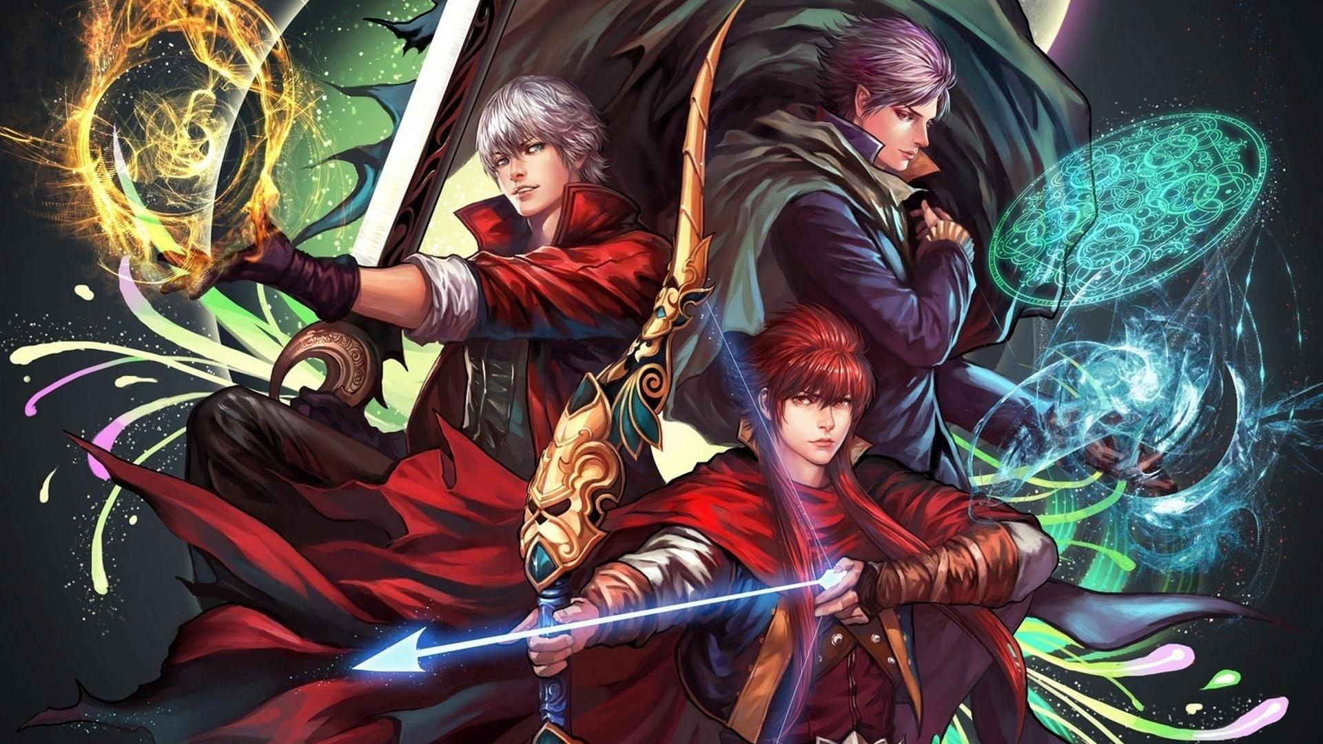 Free Download Cry Devil May Cry Anime May Devil Hd Wallpapers