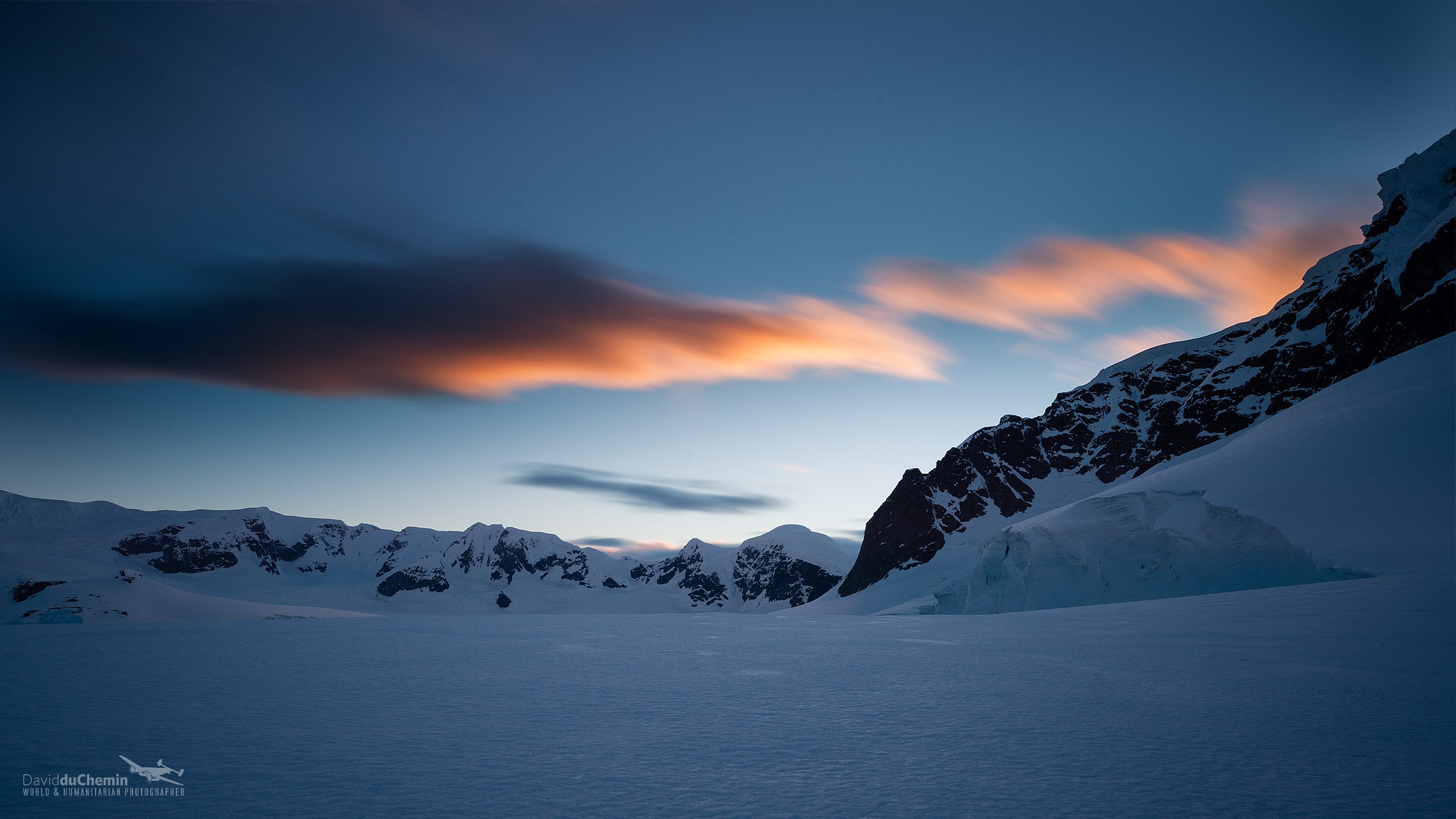 Antarctica Sunset Wide Wallpaper   Travel HD Wallpapers 2560x1440