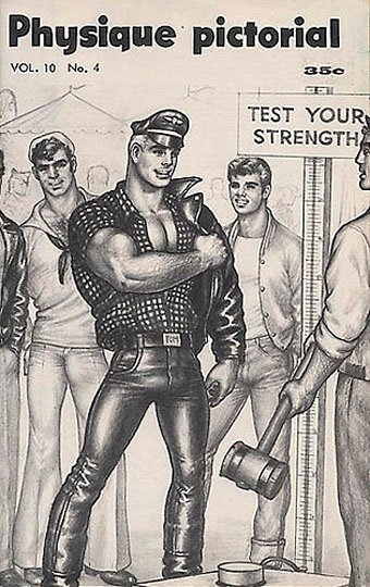 Lets get physical Bruce of Los Angeles and Tom of Finland 340x540