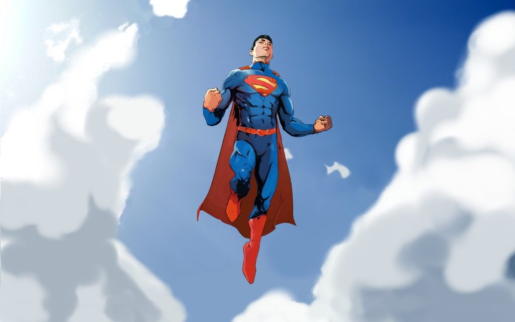 Superman flight wallpaper by samuraiminister 1024x640