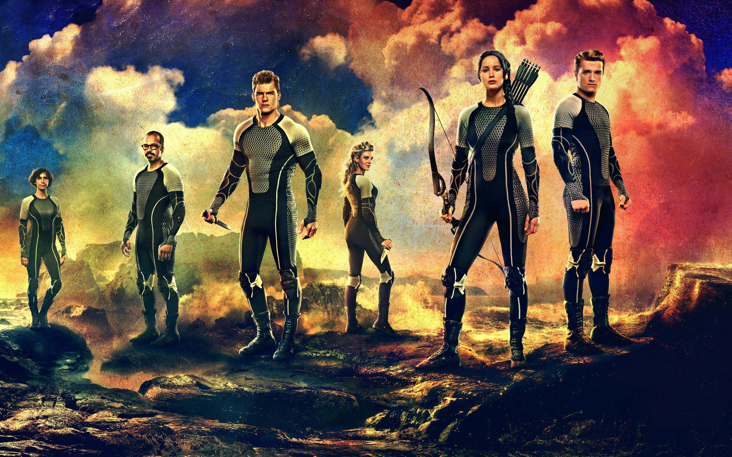 2013 The Hunger Games Catching Fire Wallpapers HD Wallpapers 2560x1600