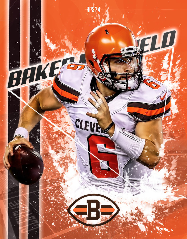 Baker Mayfield Wallpaper 791x1010