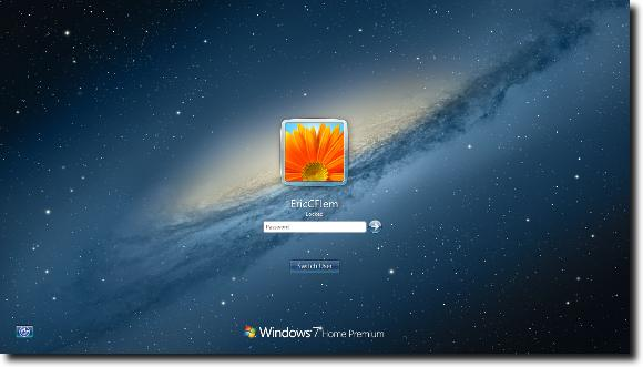 your screen or logout to see your new login screen 580x331