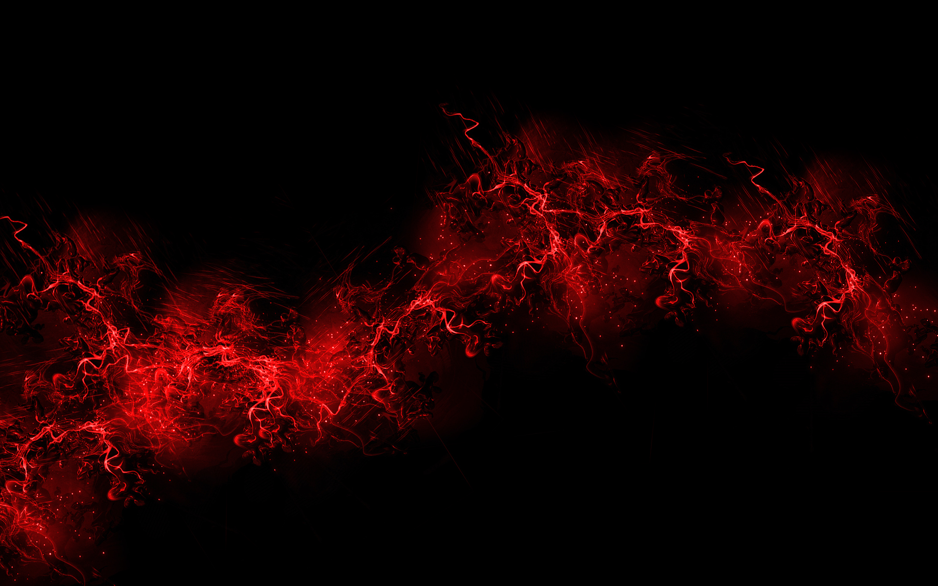 Wallpaper black background red color paint explosion burst red 1920x1200