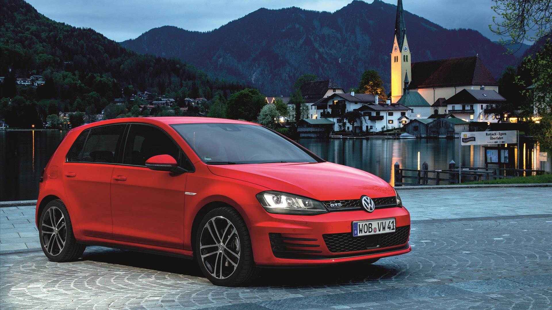 2014 Volkswagen Golf GTD Wallpaper HD Car Wallpapers 1920x1080