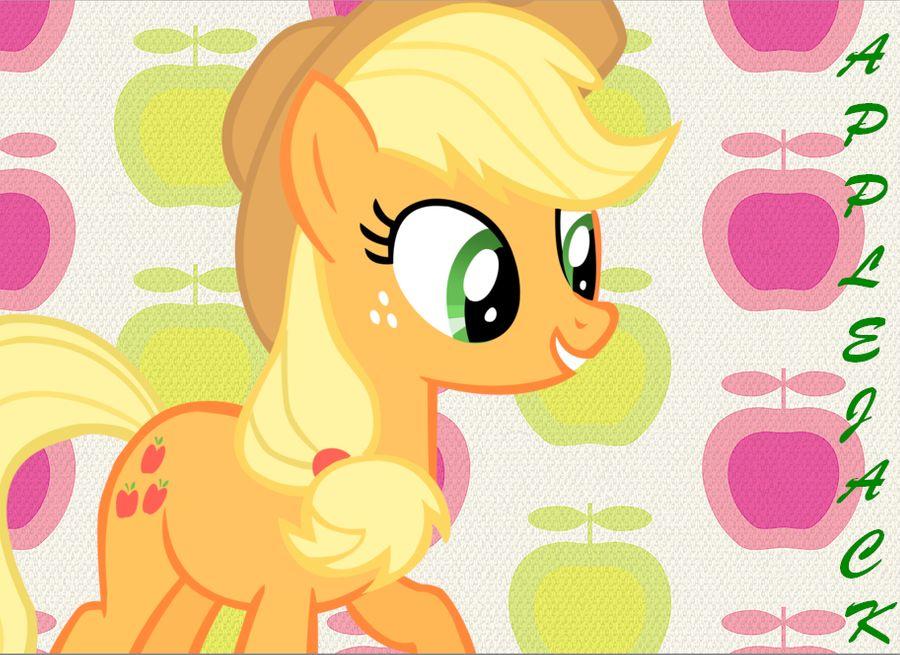 Applejack Background by aSecretBrony 900x655