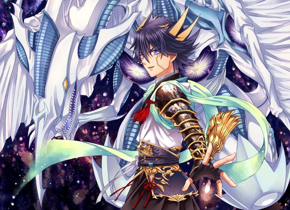 Yu Gi Oh 5Ds Stardust Dragon Yusei Fudo Dragon wallpaper 964x700