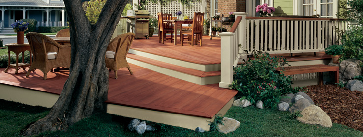 How To Stain A Deck Tips From Sherwin Williams 738x280
