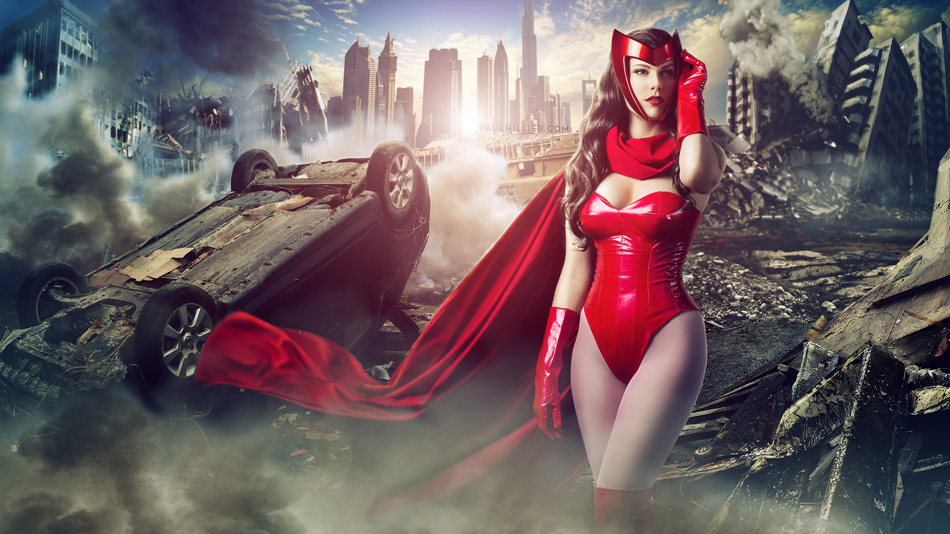 Free Download Scarlet Witch By Roadragebunny 1920x1080 For Your