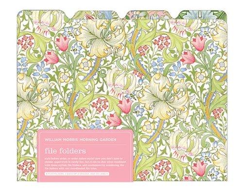 William Morris Garden File Folder 500x388