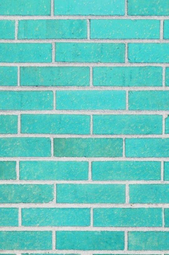 iPhone Background bricks aqua teal turquoise backgrounds Pinterest 541x812