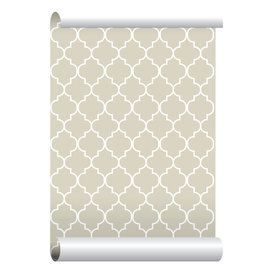 Self adhesive Removable Wallpaper Moroccan Print by EazyWallpaper 900x900