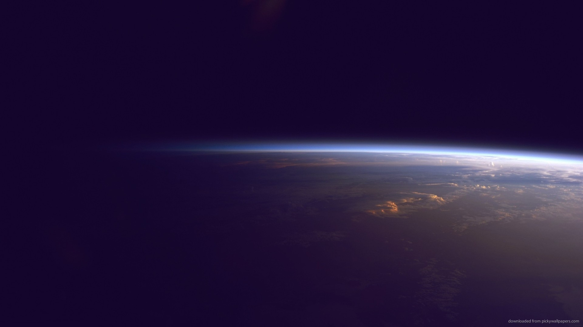 Download 1920x1080 Earth Horizon From Space Wallpaper 1920x1080