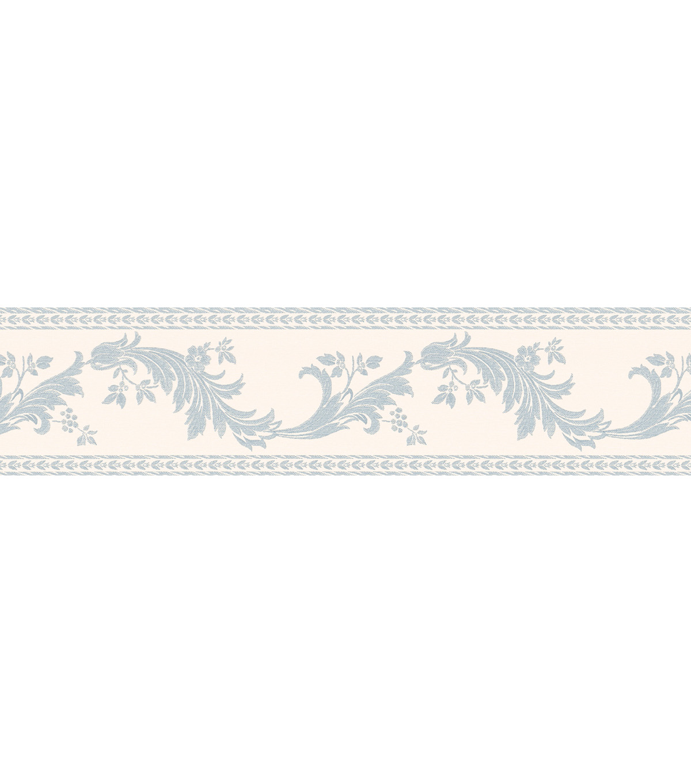 Wallpaper Border BlueScroll Silhouette Wallpaper Border Blue 1200x1360