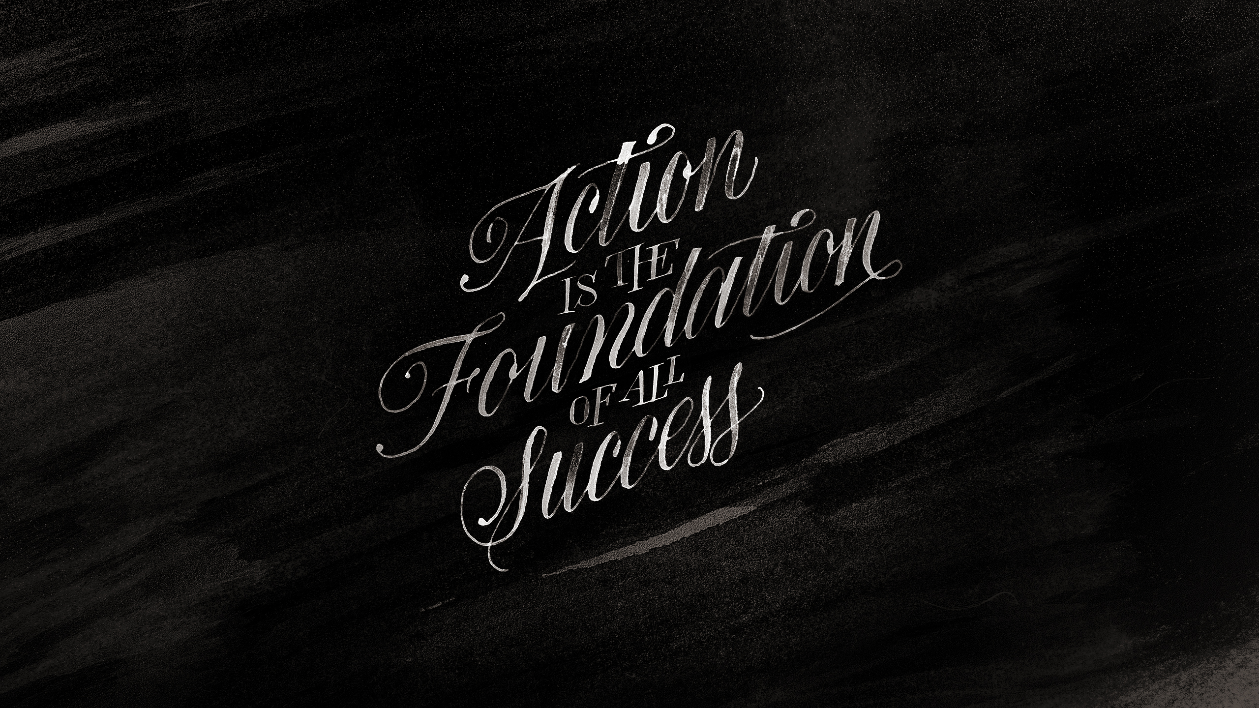 success   Picasso quotes simple minimalist black and white wallpaper 2560x1440