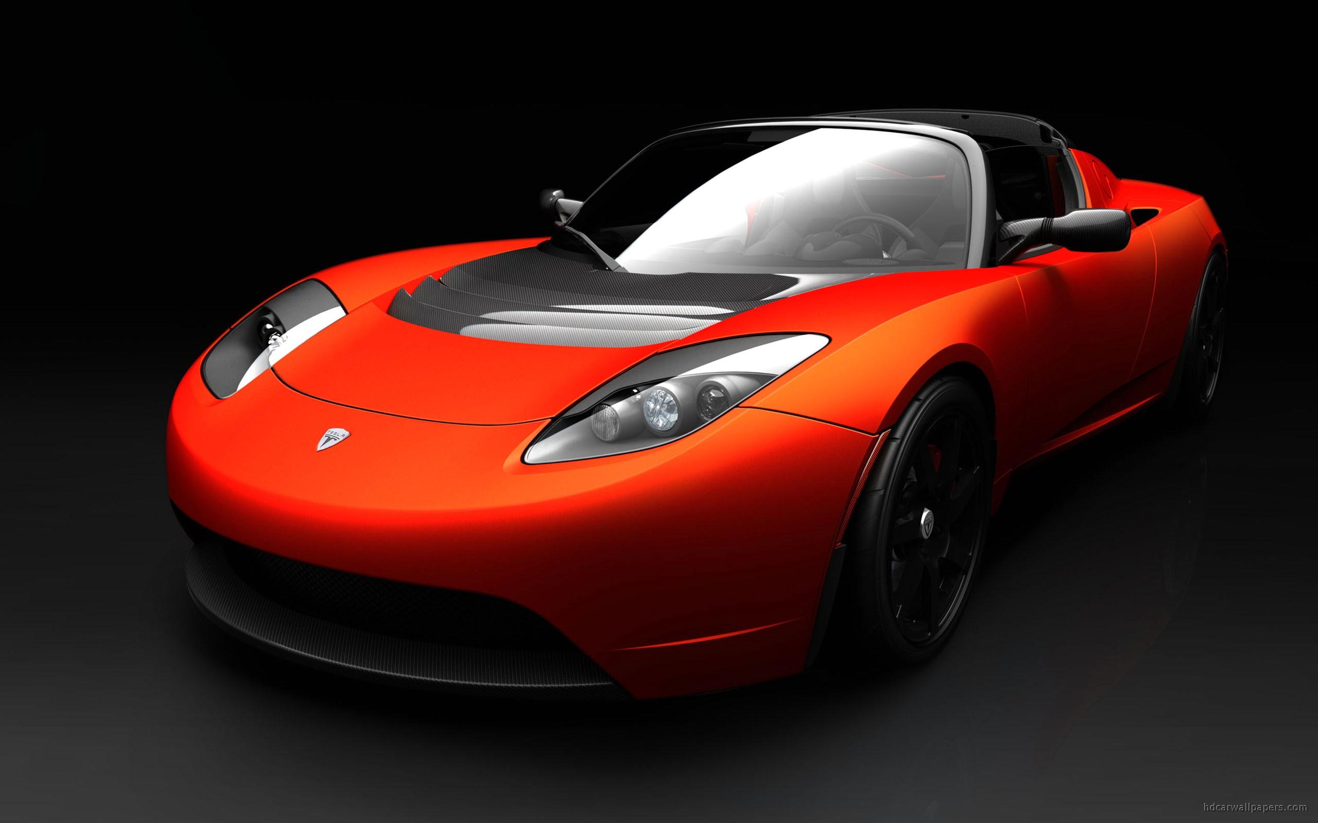 Tesla Roadster Sports Car Wallpaper HD Car Wallpapers 2560x1600
