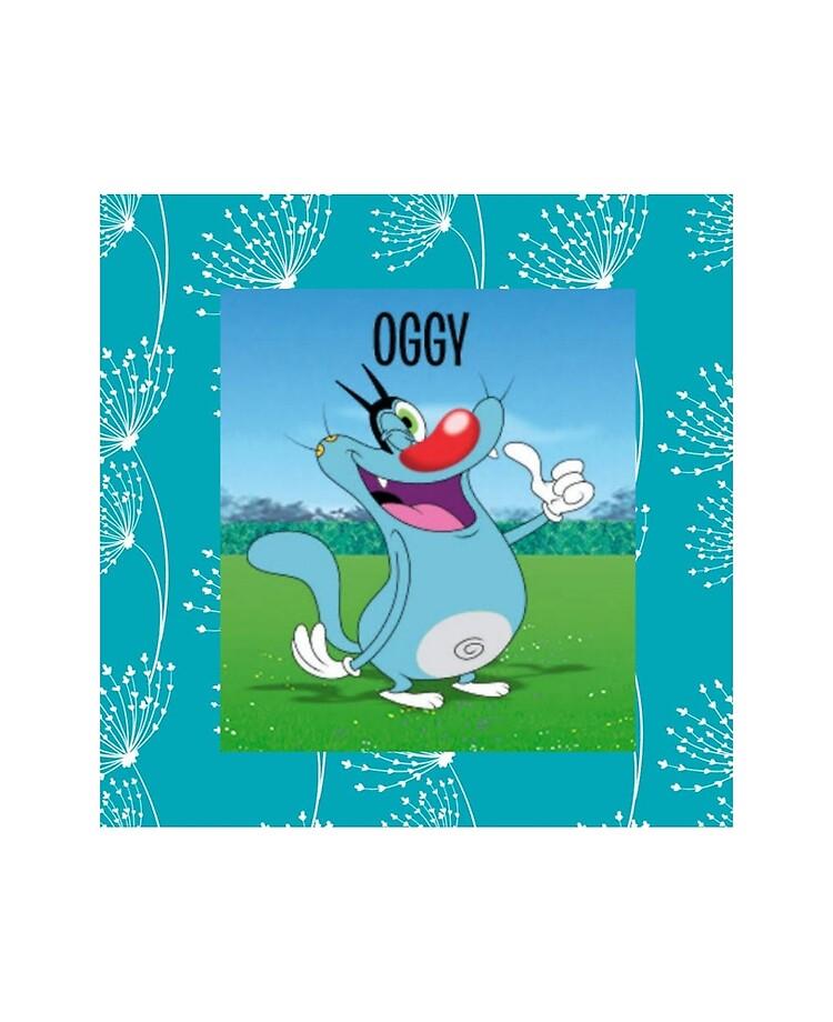 Oggy oggy cat oggy cartoon cute cat funny iPad Case Skin 750x920