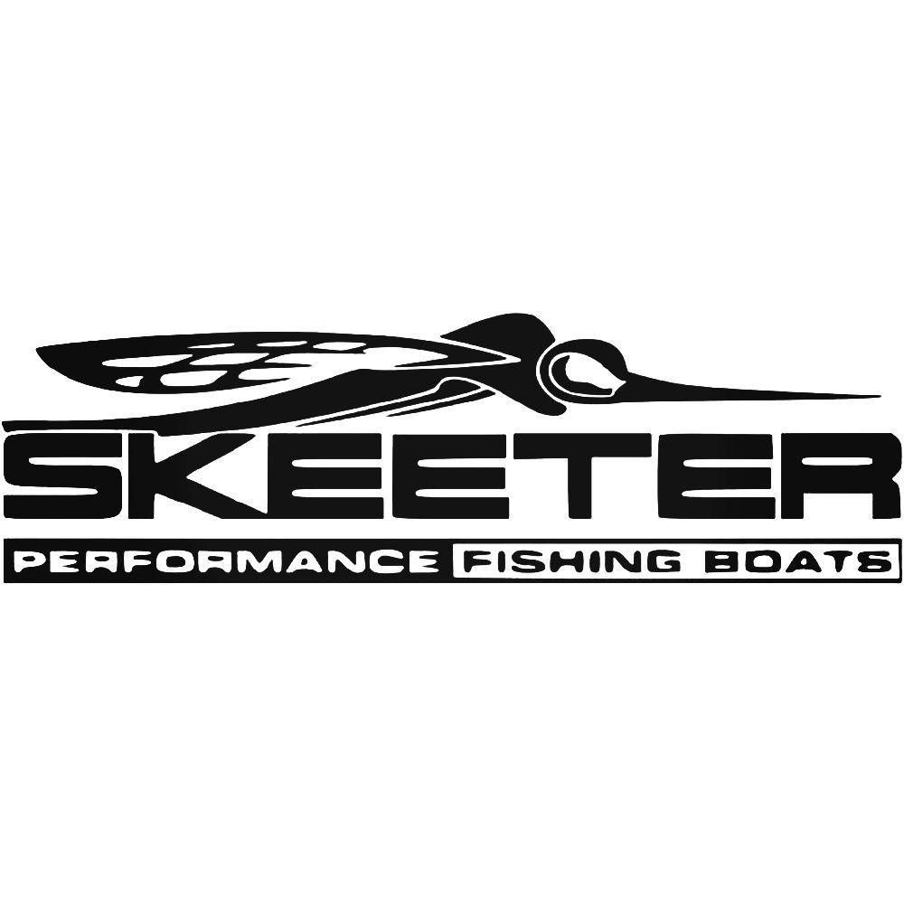 Skeeter Performance Fishing Boats Logo Vinyl Decal Sticker 1000x1000
