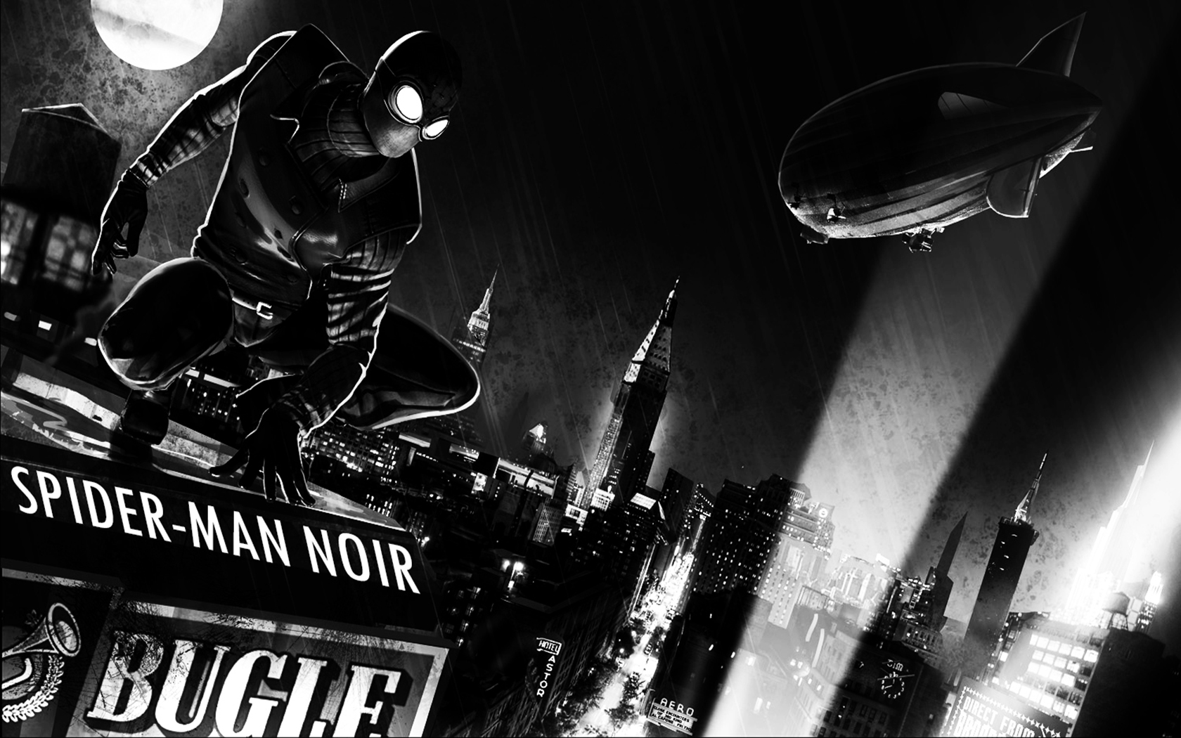 50 Spider Man Noir Wallpaper On Wallpapersafari