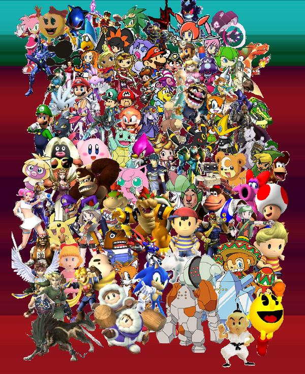 nintendo characters wallpaper-#33