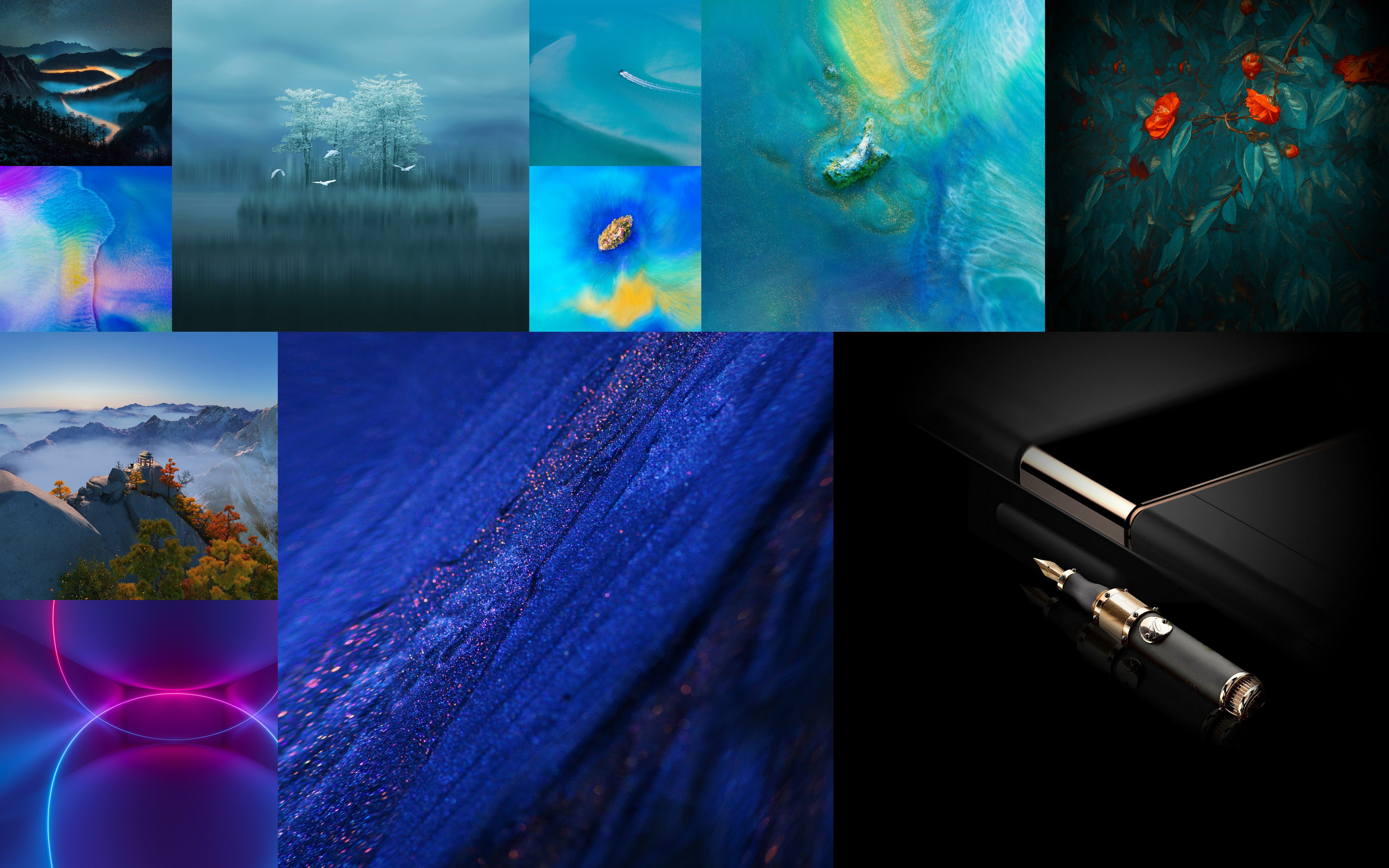 Download Huawei Mate 20 and Mate 20 Pro Stock Wallpapers 5120x3200
