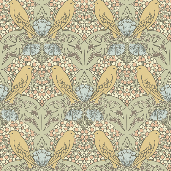 field guide 35 CFA VOYSEY WALLPAPER 576x576