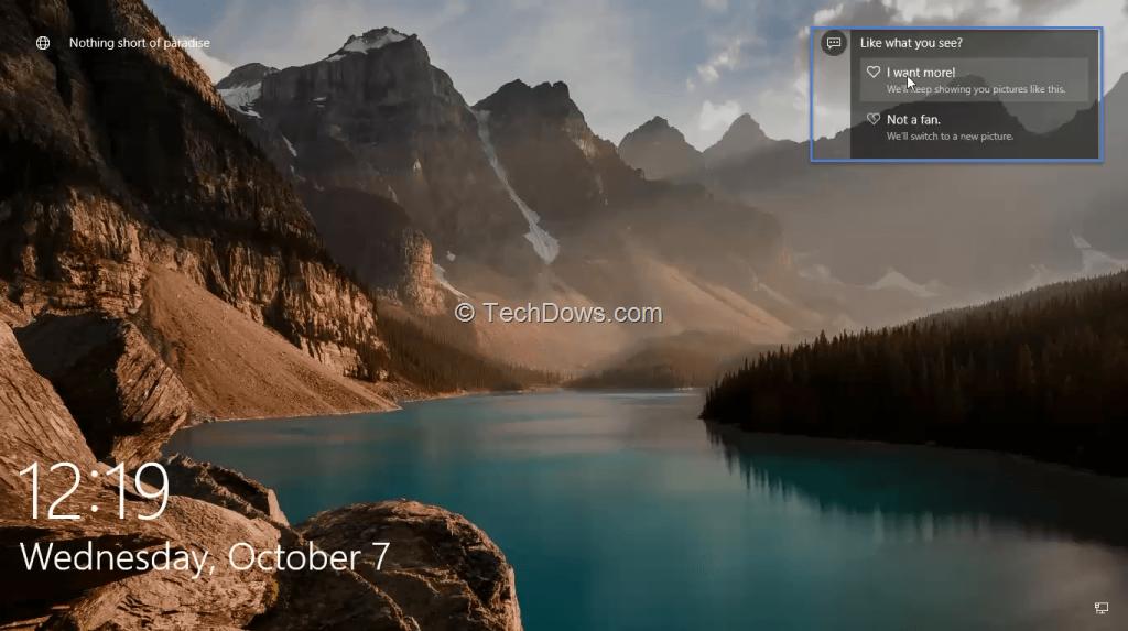 Enable Windows Spotlight in Windows 10 Pro to get better Lock Screen 1024x573