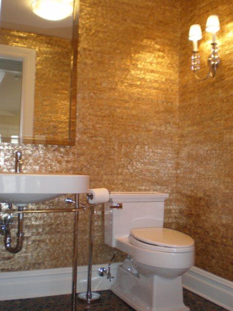 Wallpaper for powder room wallpapersafari - Powder room wallpaper ideas ...