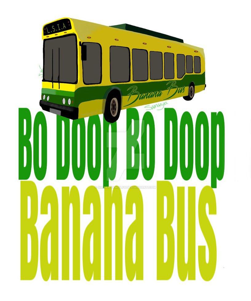 BANANA BUS by SamanyaWolf5 816x979