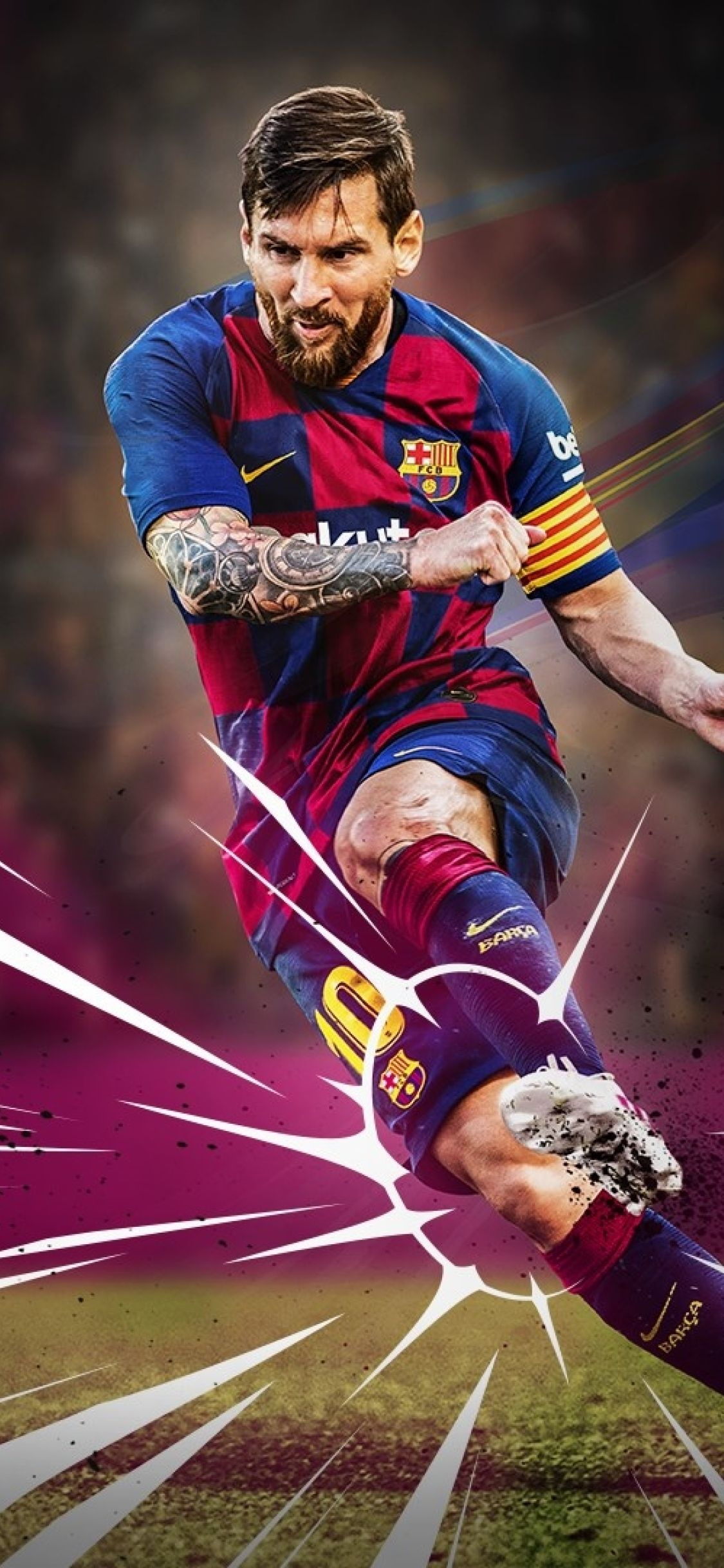 Messi 2020 Wallpapers   Top Messi 2020 Backgrounds 1125x2436