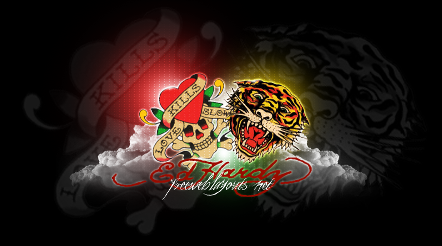 Ed Hardy Backgrounds Wallpaper Cave Source For Myspace Edhardy
