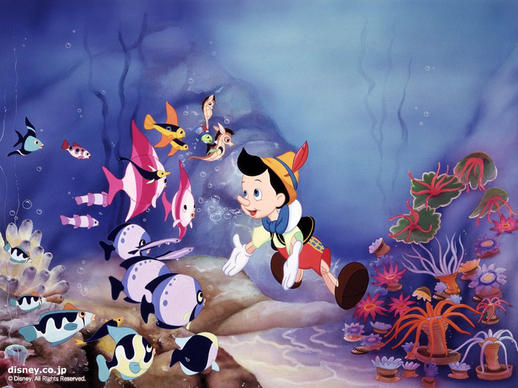 Pinocchio Wallpaper   Classic Disney Wallpaper 6432483 1024x768