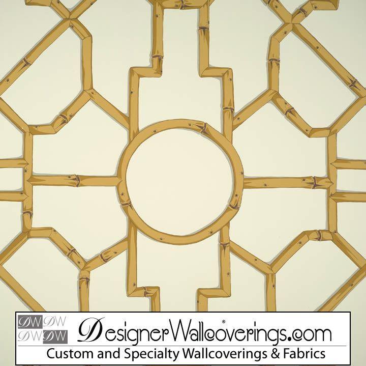 Regal Bamboo Lattice Trellis Wallpaper [PAL 42098] Designer 720x719