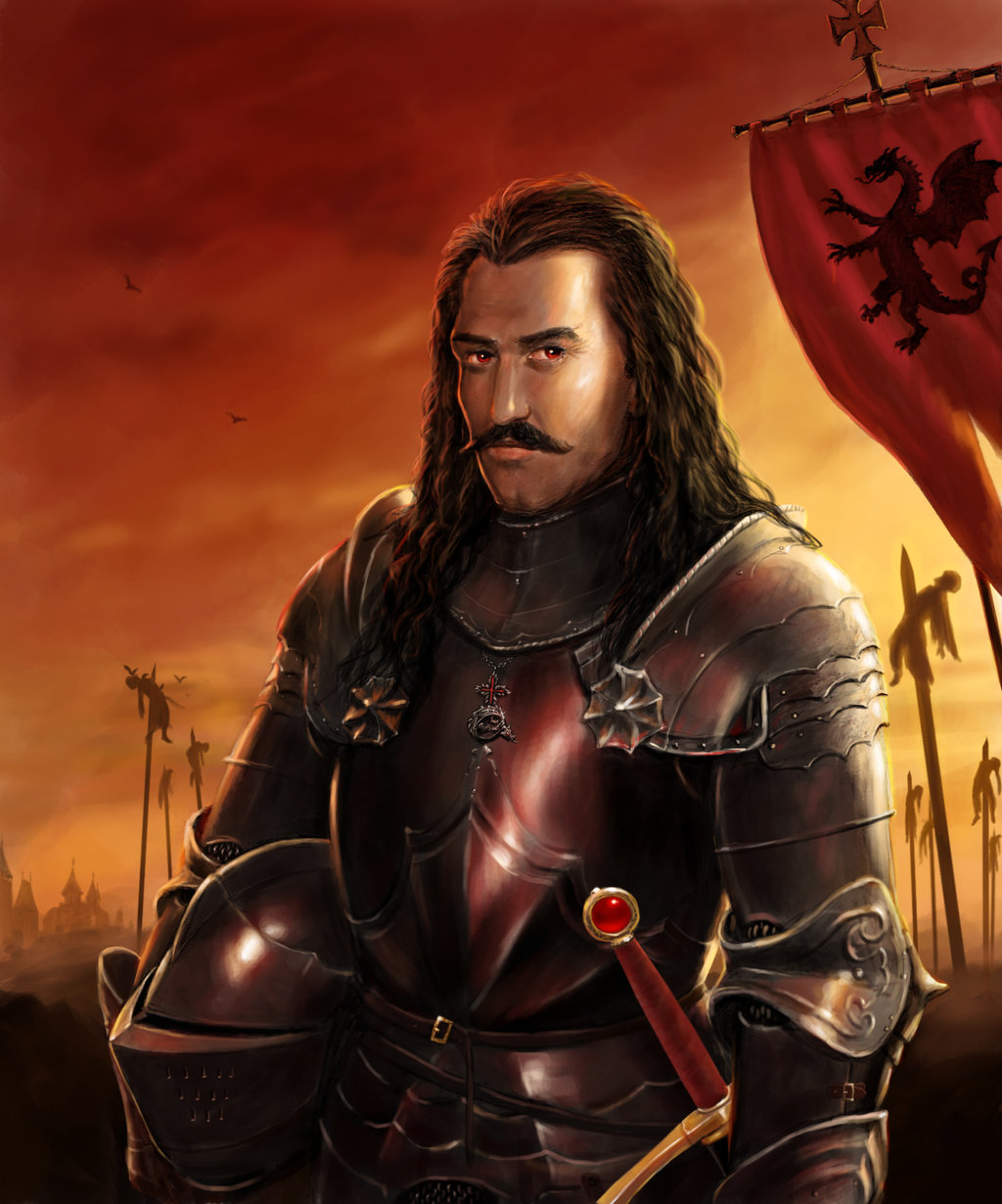 Vlad the Impaler Monster or Hero by dashinvaine 1024x1230