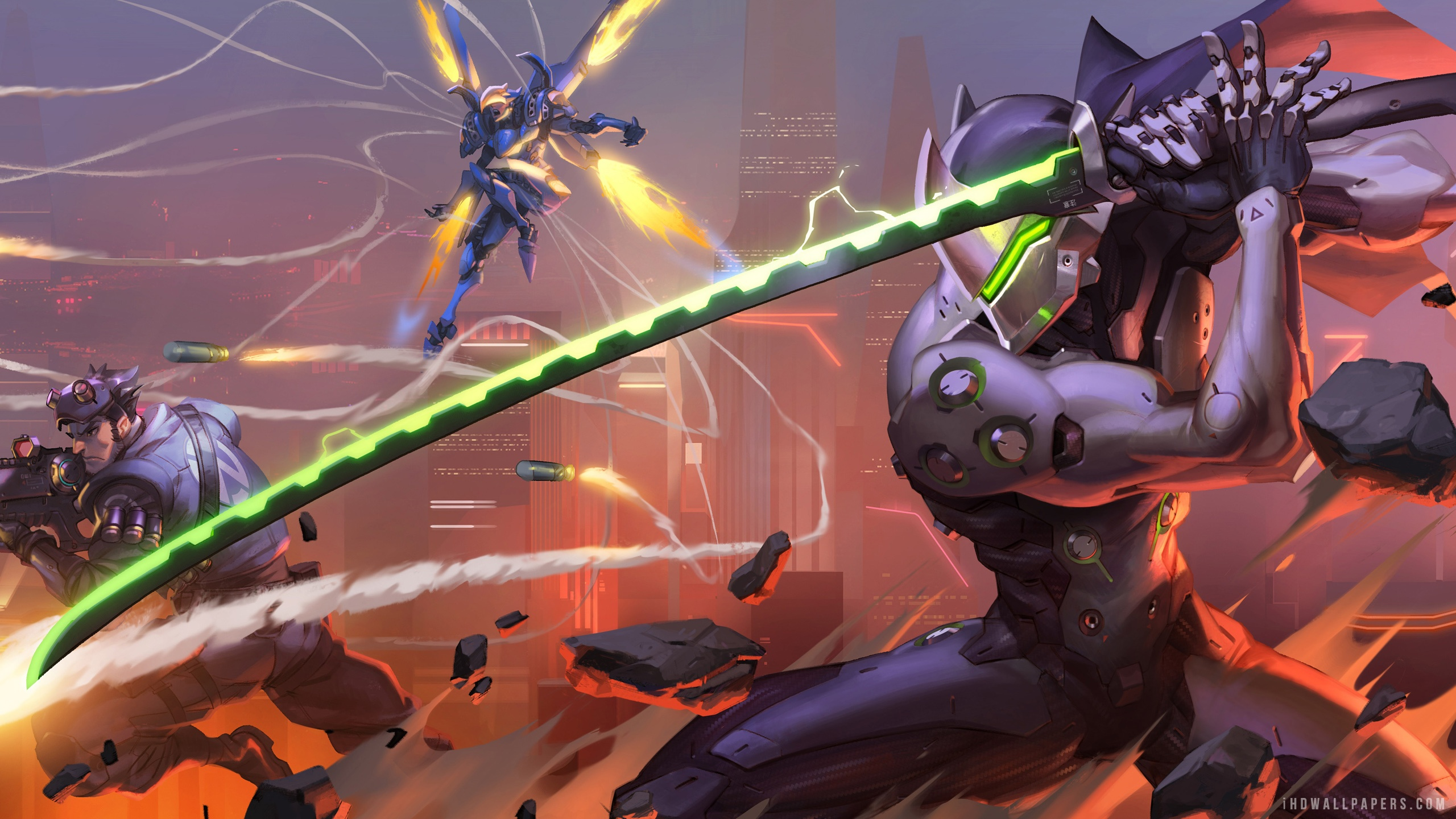 Overwatch Game Play HD Wallpaper   iHD Wallpapers 2560x1440