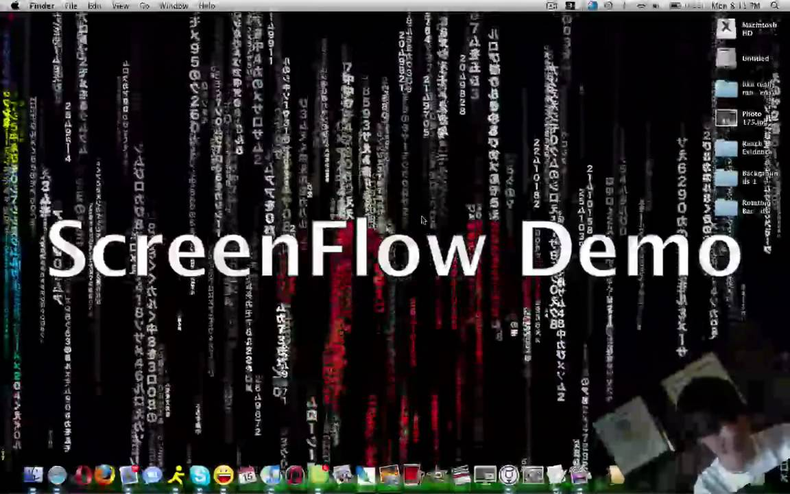 Awesome Moving Matrix Code Background Screensaver Mac 1152x720