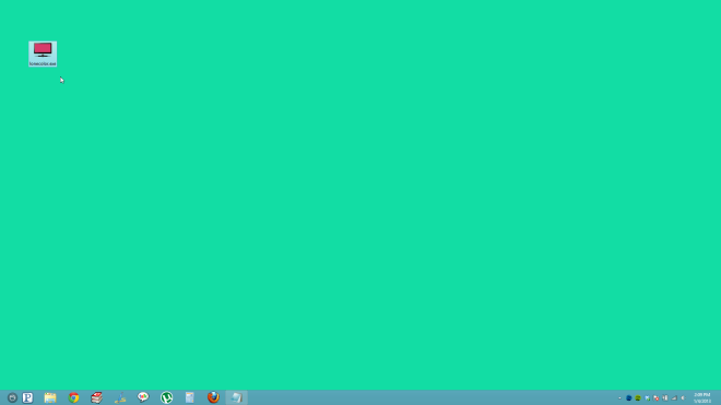 Quickly Set Any Solid Color As Desktop Background With LoneColor 660x371