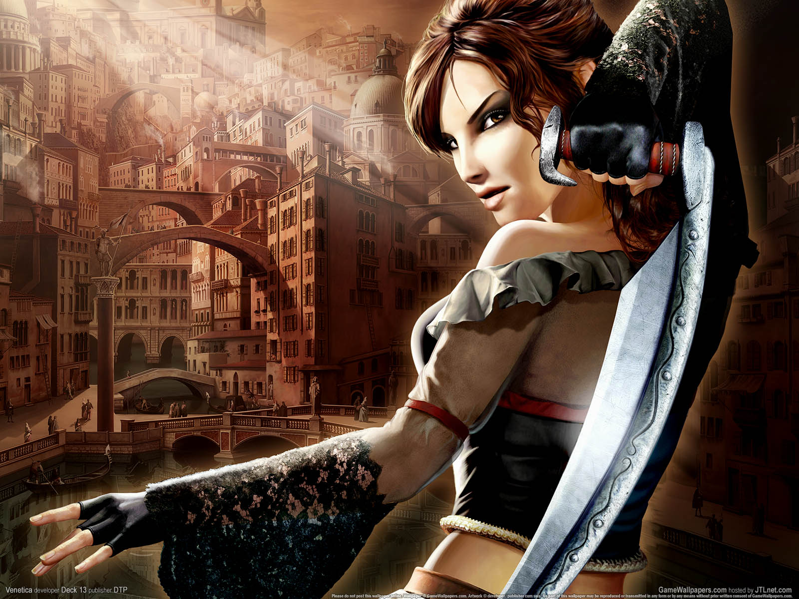 Female Assassin Wallpaper Images Pictures   Becuo 1600x1200