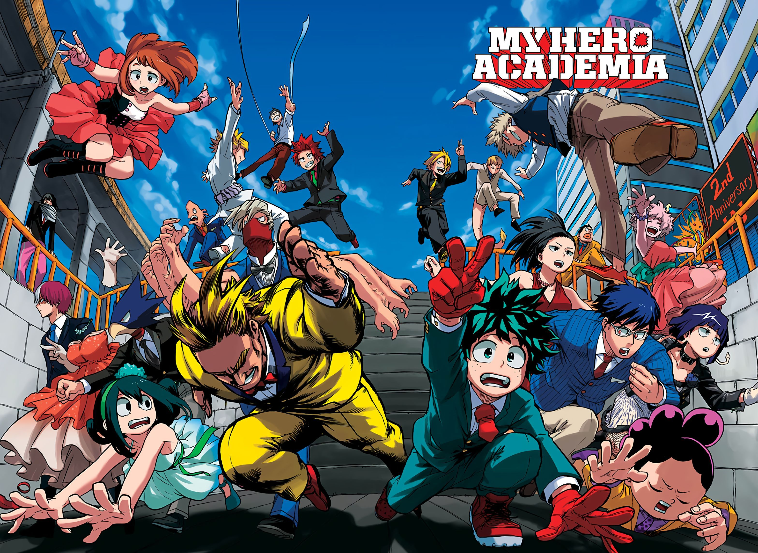 31] My Hero Academia Two Heroes Wallpapers on WallpaperSafari 3135x2288