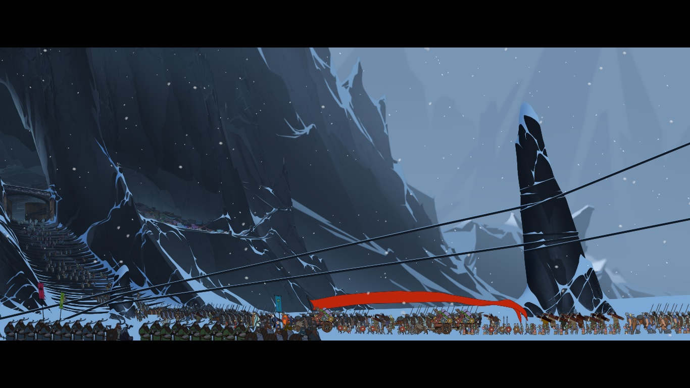 The Banner Saga Review Its about the journey   GamerTell 1366x768