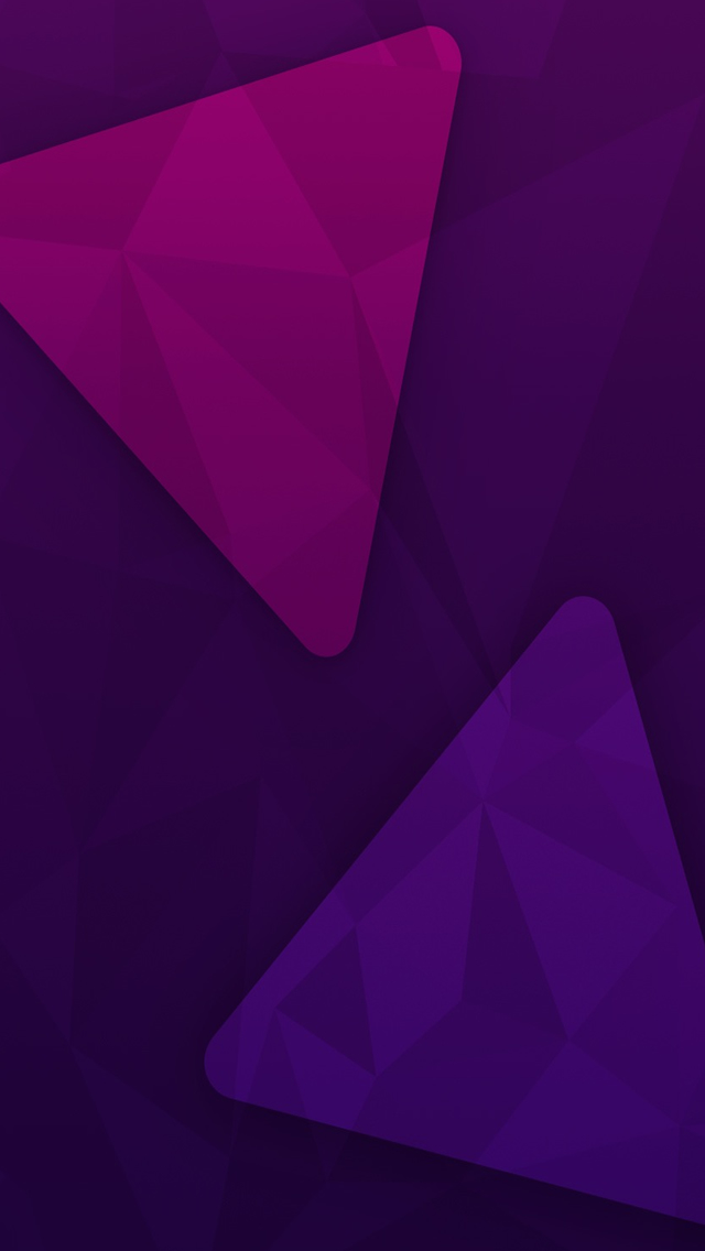 Purple Geometry Triangle iPhone 5s Wallpaper Download iPhone 640x1136